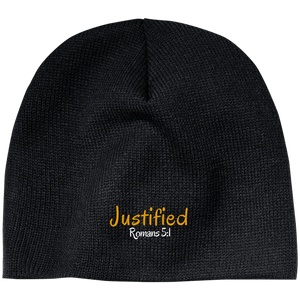 Justified 3b CP91 100% Acrylic Beanie