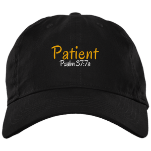 Patient 3a BX001 Brushed Twill Unstructured Dad Cap