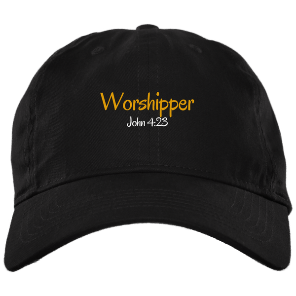 Worshipper 3 BX001 Brushed Twill Unstructured Dad Cap