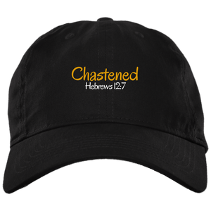 Chastened 3 BX001 Brushed Twill Unstructured Dad Cap