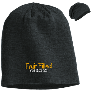 Fruit Filled 3 DT618 District Slouch Beanie