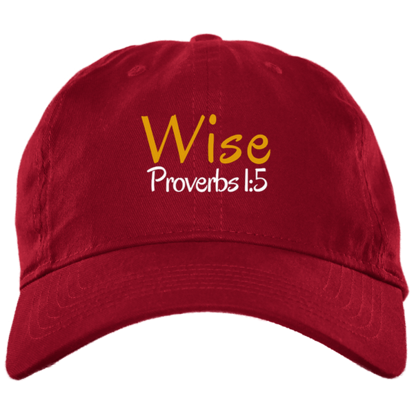 Wise 3 BX001 Brushed Twill Unstructured Dad Cap