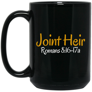 Joint Heir 3 BM15OZ 15 oz. Black Mug