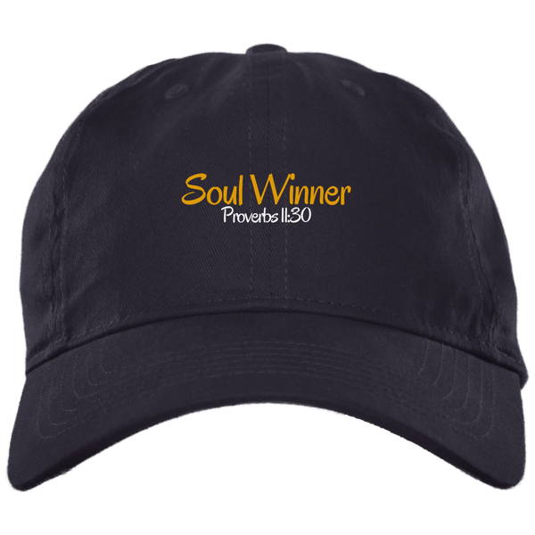 Soul Winner 3 BX001 Brushed Twill Unstructured Dad Cap
