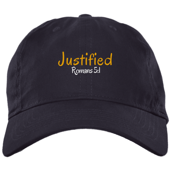 Justified 3b BX001 Brushed Twill Unstructured Dad Cap