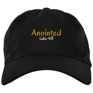 Anointed 3 BX001 Brushed Twill Unstructured Dad Cap