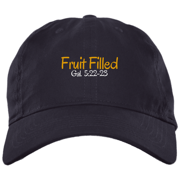 Fruit Filled 3 BX001 Brushed Twill Unstructured Dad Cap
