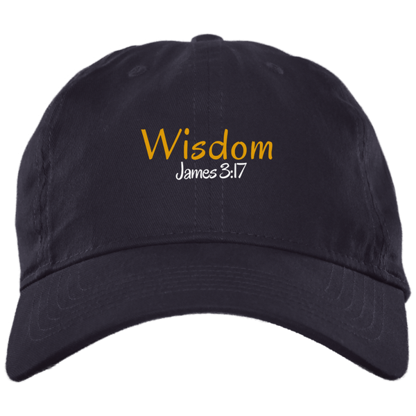 Wisdom 3 BX001 Brushed Twill Unstructured Dad Cap