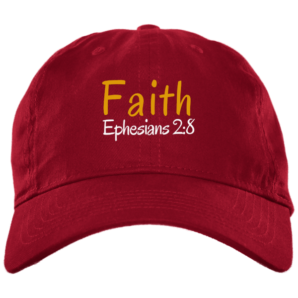 Faith 3b BX001 Brushed Twill Unstructured Dad Cap