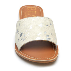 Matisse Cabana Sandal in Silver Hide - The Beef Boutique