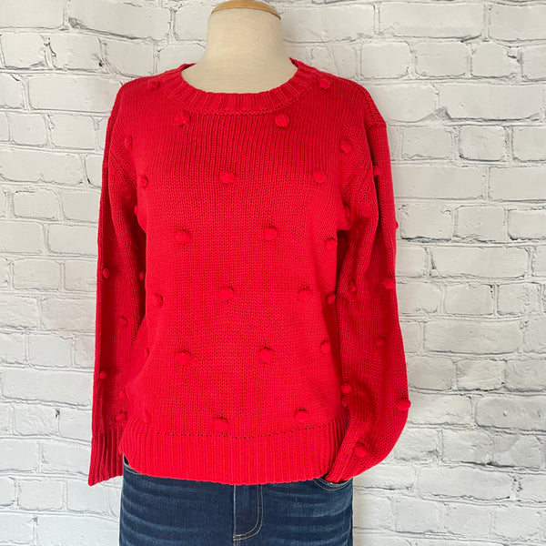 Saint Valentine Pom Sweater - The Beef Boutique