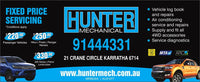 Hunter Mechanical Gift Voucher