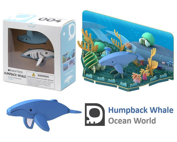 Humpback Whale - Half Toy