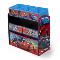 Cars Multi-Bin Toy Organiser