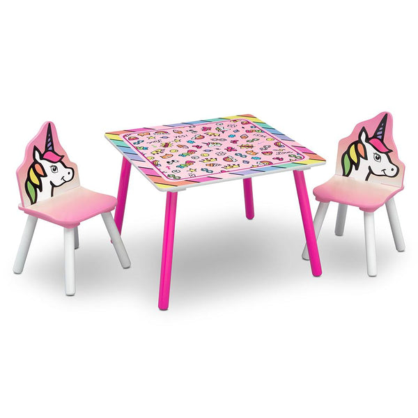 Unicorn Dreams Table and Chairs Set