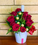 Valentine Lovers Mix ***Coloured Roses or florals Only!