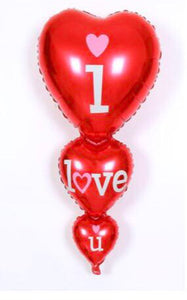 3 tier I love you Balloon
