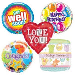 Standard Foil Balloons for all Occasions