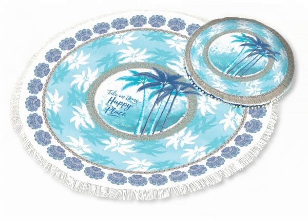 Palm Beach Picnic Blanket