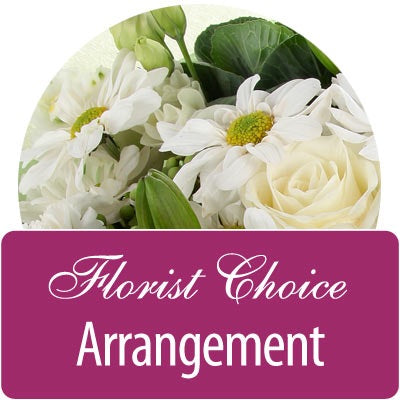 Florist Choice *Ceramic Vase Arranged