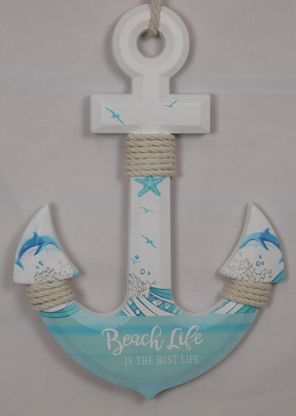 Anchor Wall Plaque 33cm
