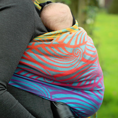 Yaro Dandy Fire Grad Aqua Tencel Ring Sling