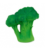 Oli & Carol Brucy the Broccoli. Eco friendly chewable vegetable-shaped baby toy for sensory play, teething and bath time. Little gums love its texture and also it stimulates baby's senses.