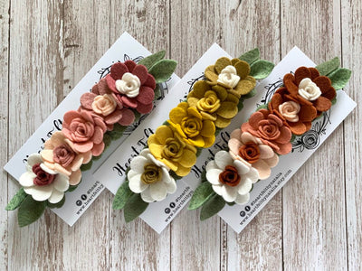 Heartfelt Flower Crown (Multi Colors available)