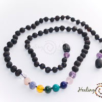 Healing Amber Raw Molasses & Gemstone Medley