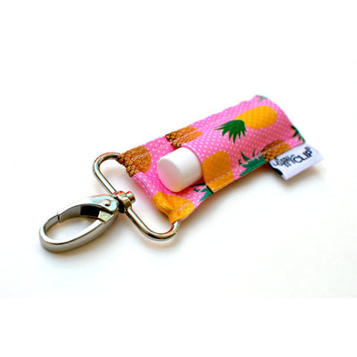 LippyClip Pink & Yellow Pineapples