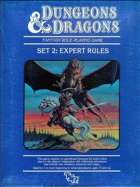 Dungeons and Dragons Expert Rulebook by Gary Gygax and Dave Arneson