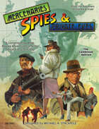 Mercenaries, Spies and Private Eyes RPG, Designed by Michael A. Stackpole, Flying Buffalo Pub.