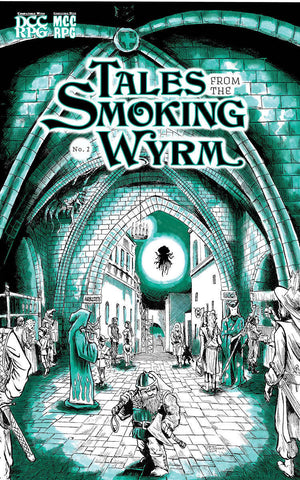 Tales from the Smoking Wyrm #2 - Numbered Riso Version