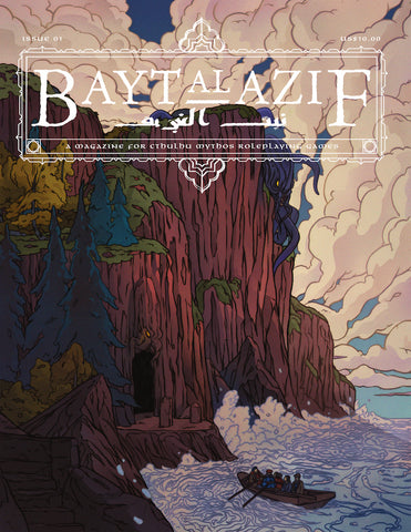 Bayt Al Azif Issue #1 - A Magazine for Cthulhu Mythos Roleplaying Games