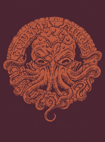 The Cthulhu Alphabet - Bronze Foil Cover