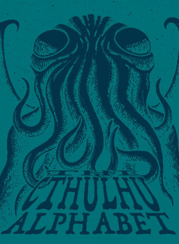 The Cthulhu Alphabet - Cerulean Foil Cover