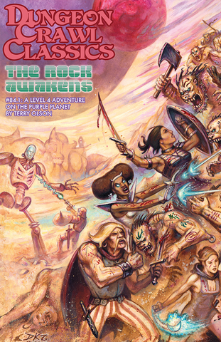 Dungeon Crawl Classics RPG Adventure #84.1 The Rock Awakens