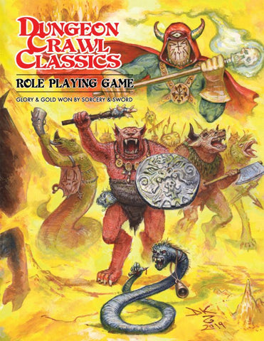 Dungeon Crawl Classics RPG:  Beastman Edition (Softcover)