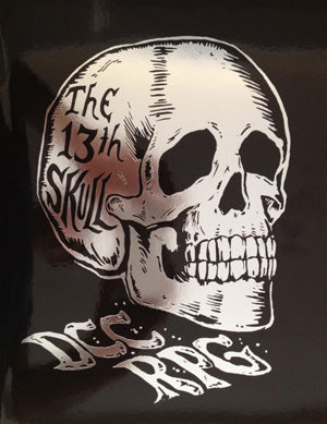 Dungeon Crawl Classics #71: The 13th Skull, Silver Foil LE