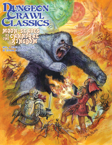 Dungeon Crawl Classics #93 Moon Slaves of the Cannibal Kingdom, by Edgar Johnson,A Level 2 Adventure