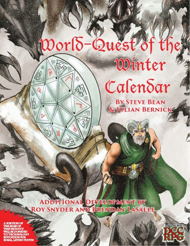 World-Quest of the Winter Calendar Dungeon Crawl Classics Level 0 Funnel