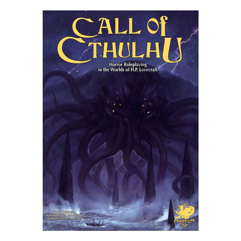 Call of Cthulhu 7th Edition – Keeper Rulebook