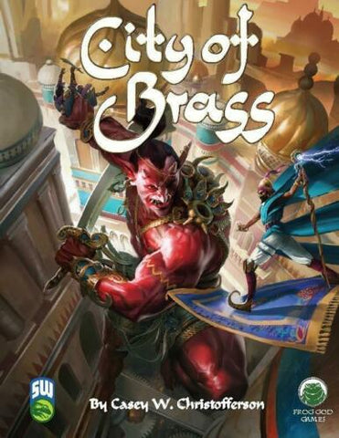 Frog God Games, City of Brass, Swords and Wizardry, by Casey W. Christofferson