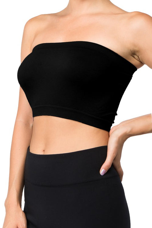 Seamless Layering Tube Top Bandeau