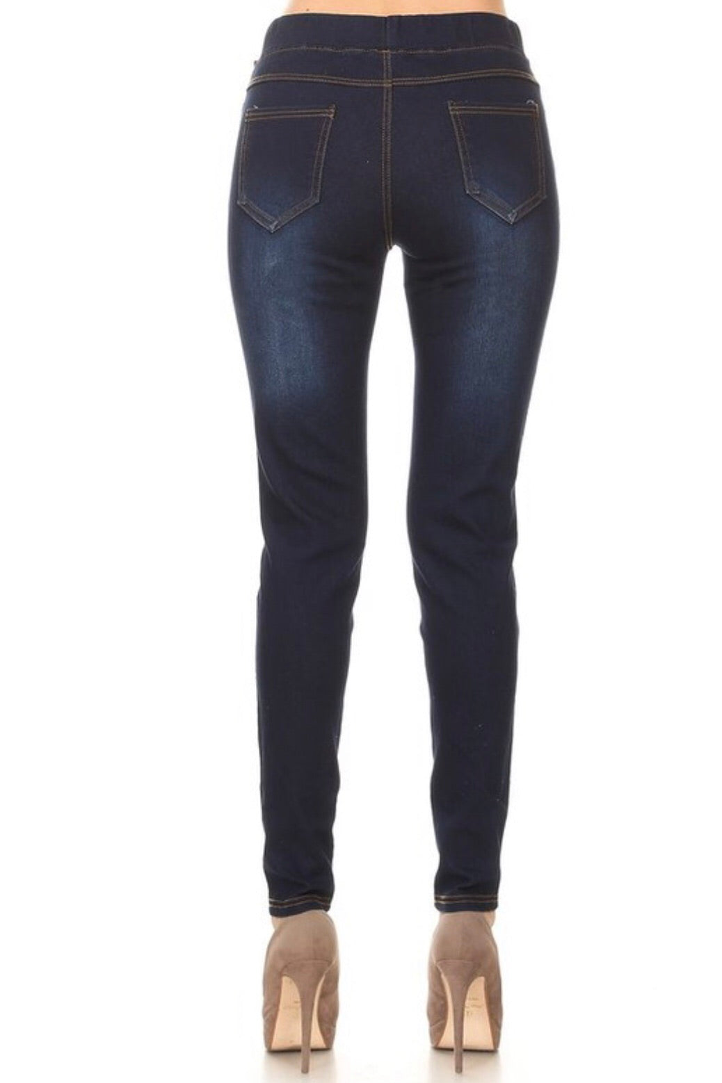 Hallelujah Dark Wash Jeggings