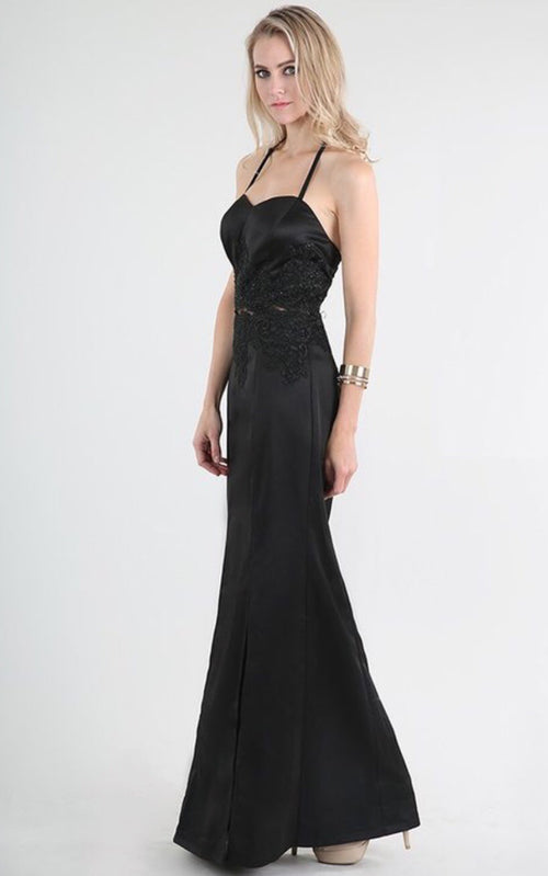 Long Elegant Evening Dress
