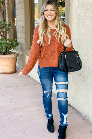 Polka Dot Sheer Button Down Blouse