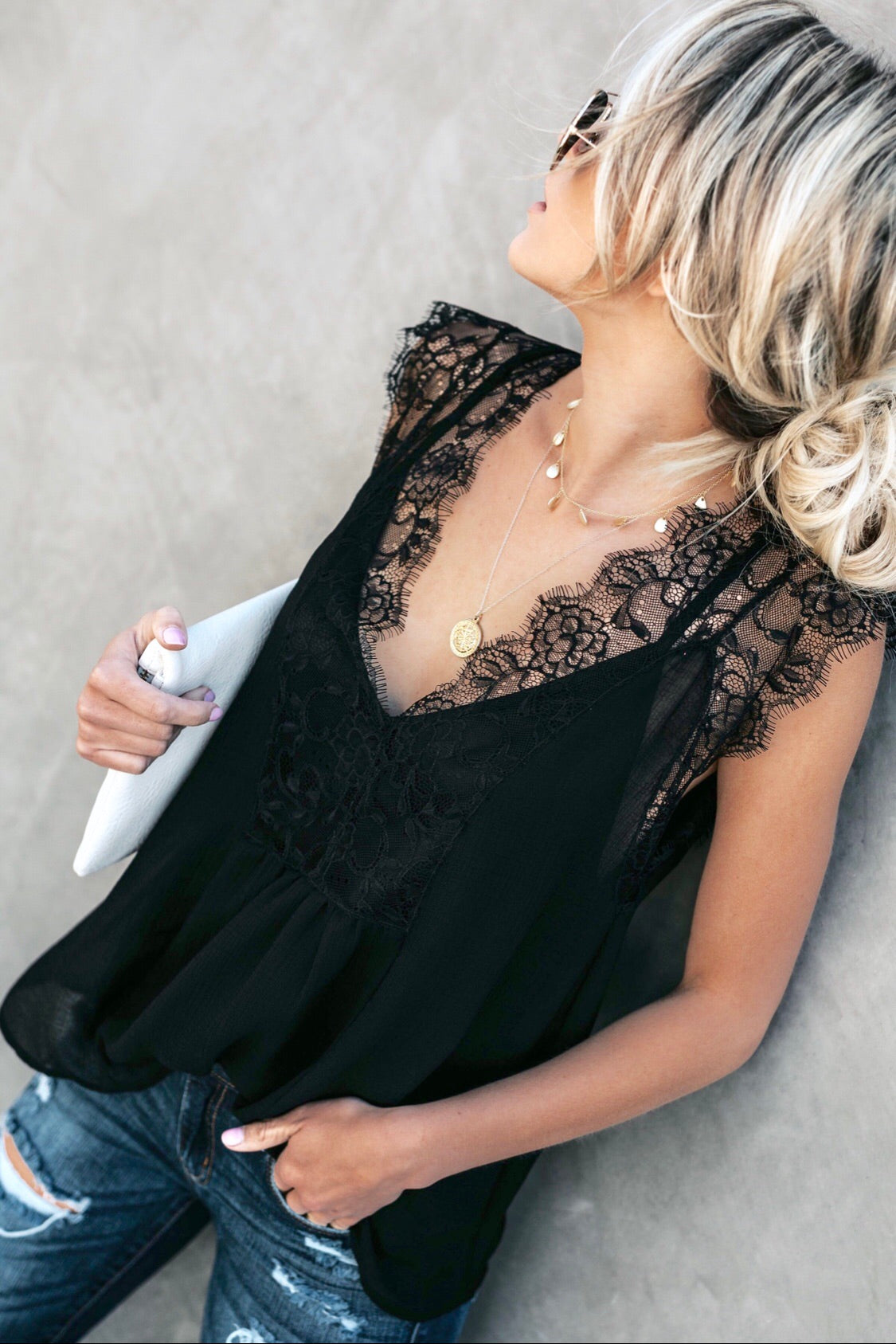 Lace Babydoll Camisole