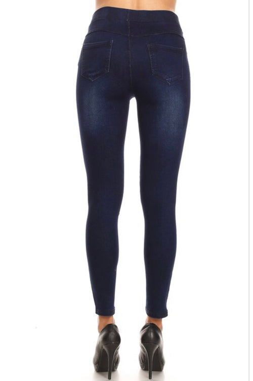 Dark Wash Denim Jeggings