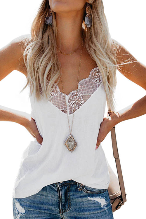 Stunning Lace Cami Tank